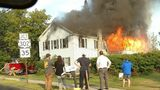 Fire rips through home in Windham
