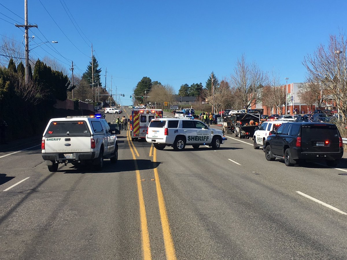 Deadly crash on 99th Street in Vancouver - Image from the Clark County Sheriff's Office<p></p>