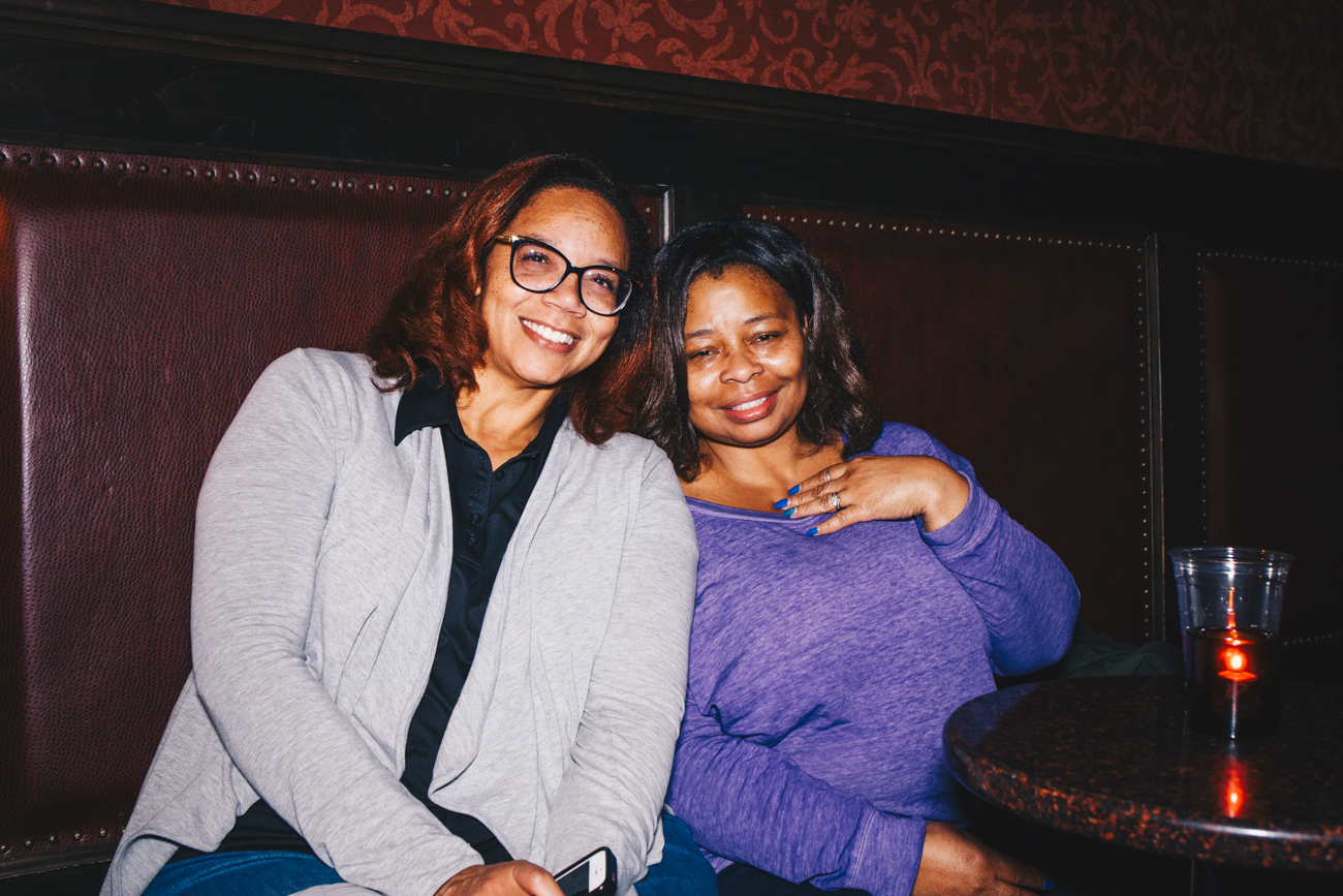 Deneen Glenn and Ruby David at Righteous Room / Image: Catherine Viox // Published: 11.22.18