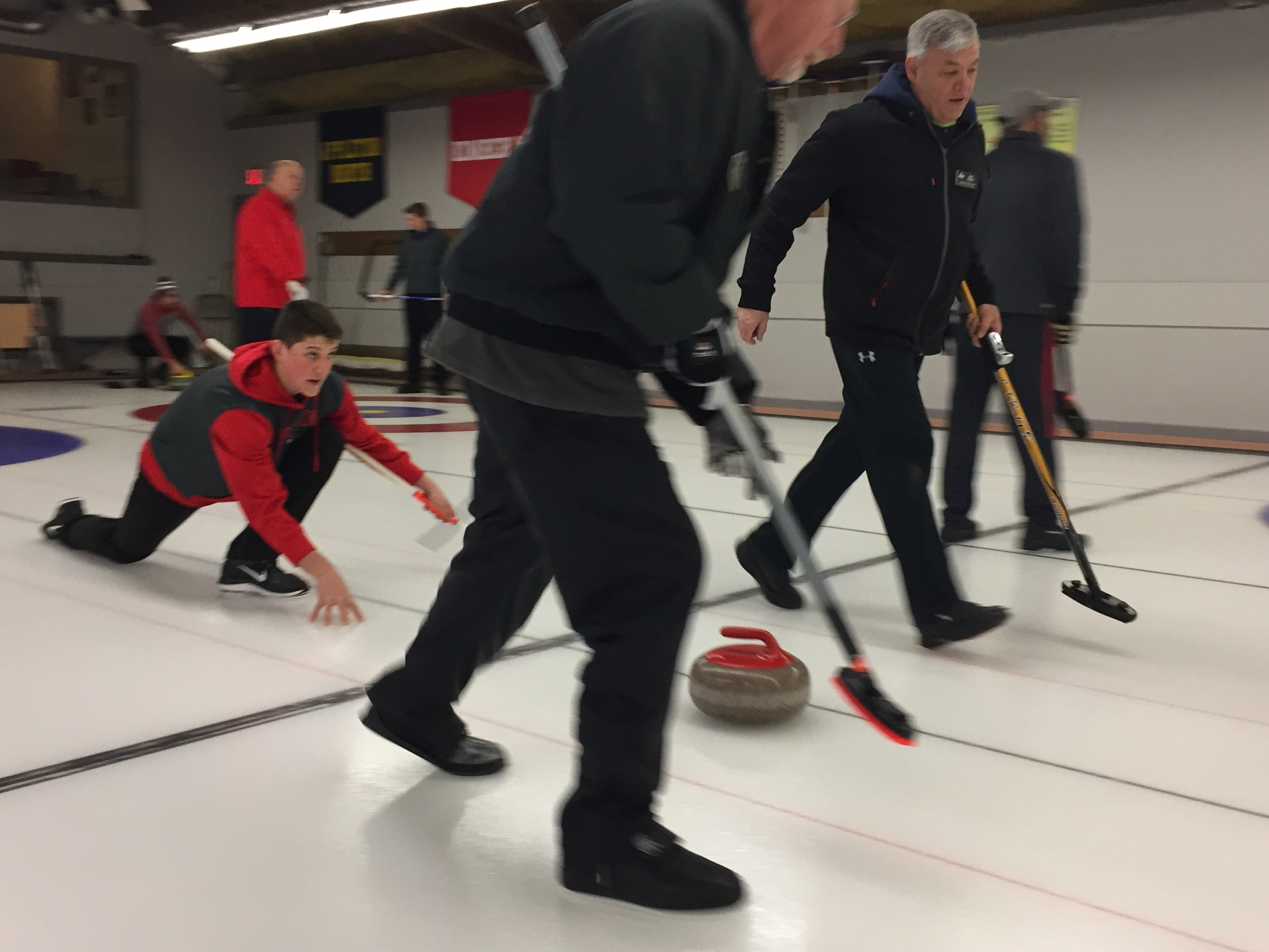 Justin Steinbrinck joined us live giving a preview of the Appleton Curling Club, February 8, 2018, (WLUK/Justin Steinbrinck)<p></p>