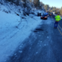 Icy conditions; speeding may have lead to fatal accident