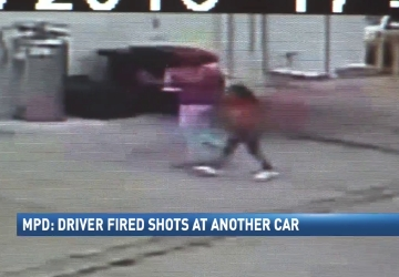 Police looking for driver who fired at another car with woman and child inside