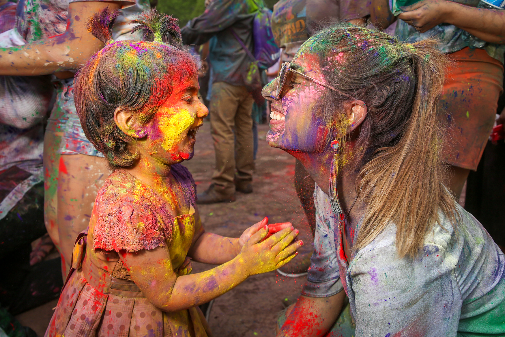 Come celebrate the ancient Indian festival of color, love and friendship in a family-friendly environment. (Image: Amanda Andrade-Rhoades/ DC Refined)