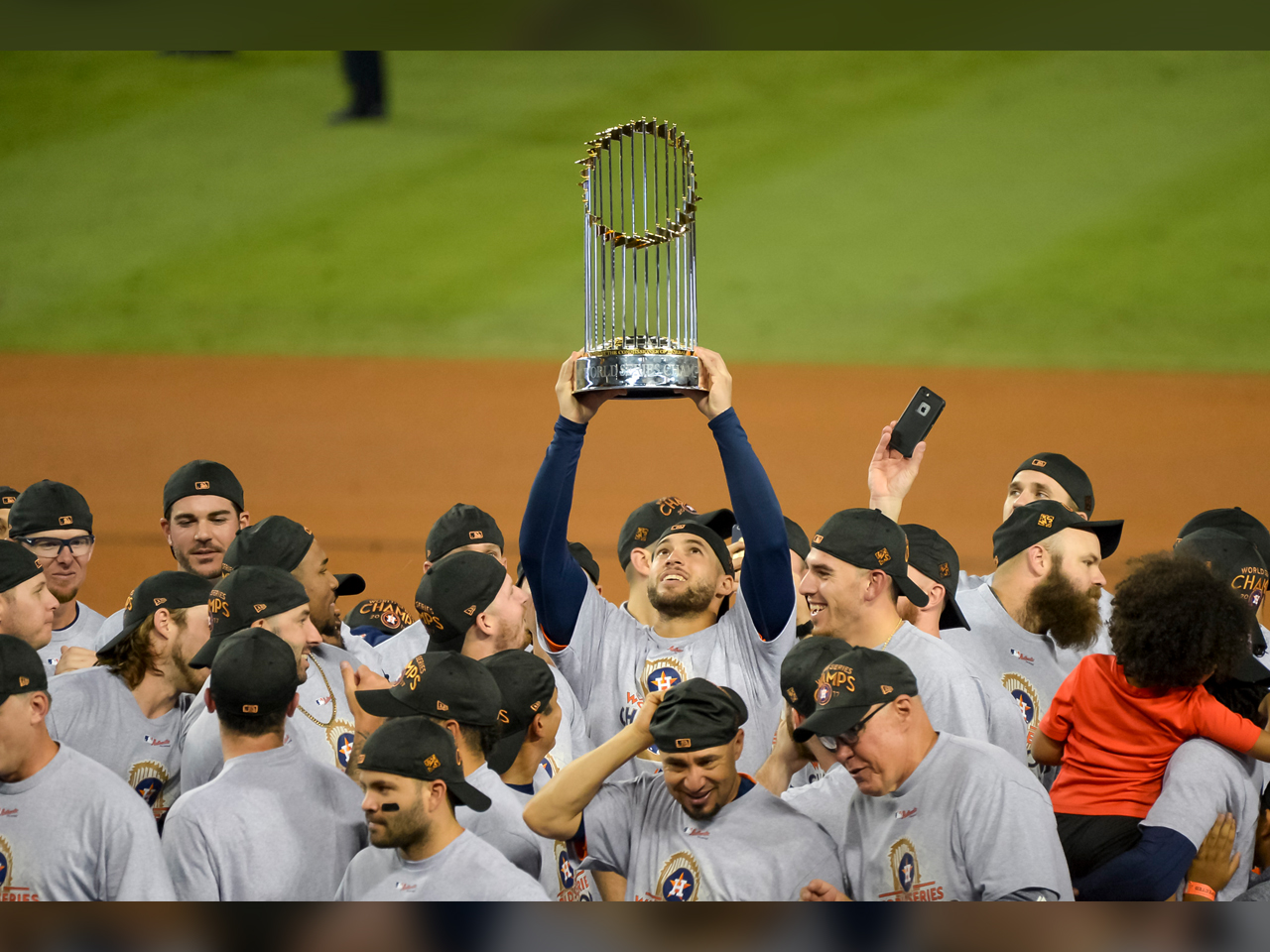 PHOTO: Houston Astros are the 2017 World Series Champions after beating the LA Dodgers 5-1 in game 7, Photo Date: 11/2/17. (Photo: ZUMA Press / MGN Online)