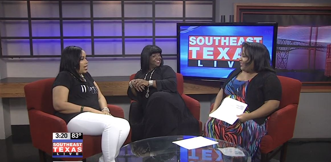 """A Different World"" cast member Charnele Brown, known as Kimberly Reese on show, joined Nicole Murray on Southeast Texas Live"