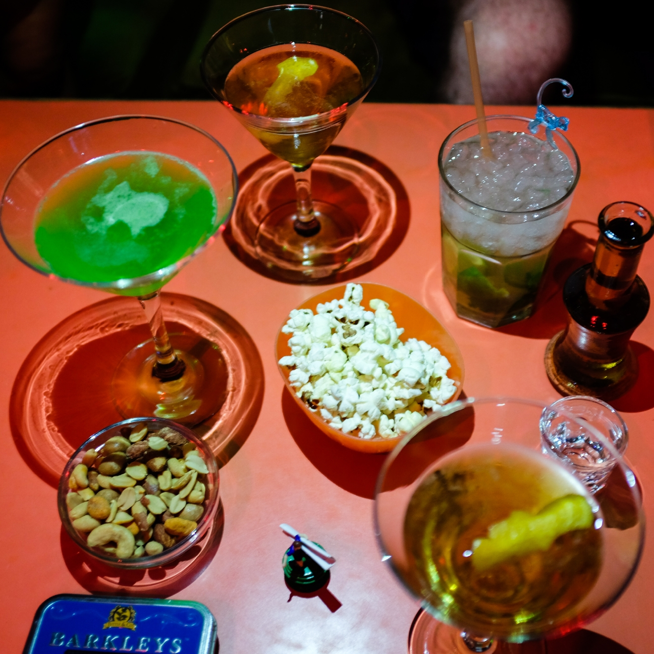 A selection of drinks from Superfly, a super hip and kitschy bar in Athens.  It is widely held that one of the best ways to get to know a new place or culture is to indulge in its cuisine. I recently spend a few days in Athens and the Greek island of Crete, and I have to say - all the beach hopping makes a girl hungry! Eating my way to enlightenment is nothing I have a problem with. From moussaka to souvlaki, here's a little food diary from my Grecian vacation. (Image: Chona Kasinger / Seattle Refined)
