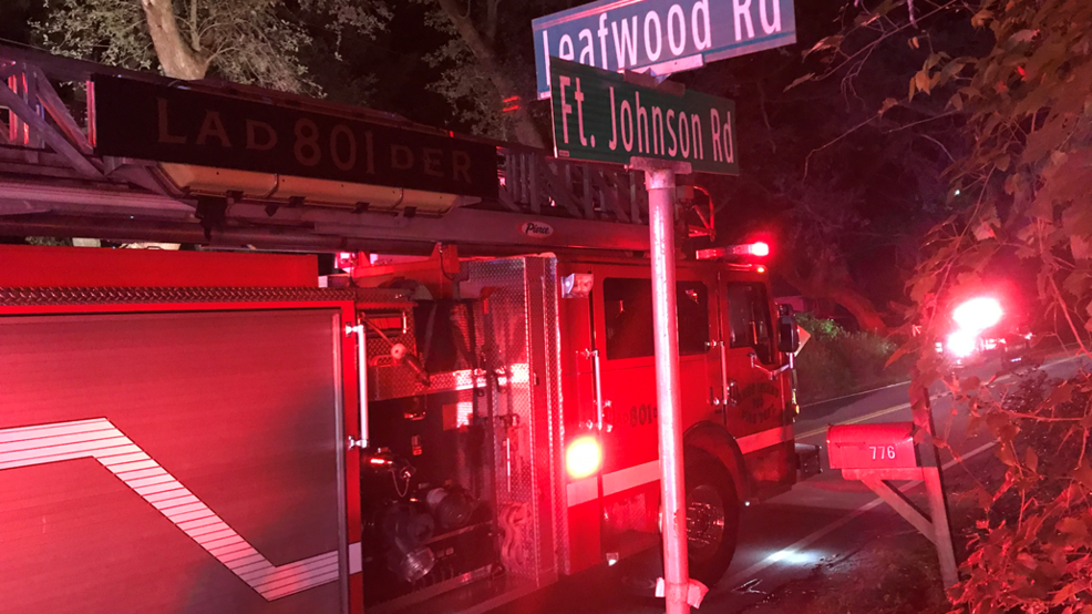 Early morning fire on James Island traced to back porch of home