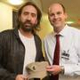 Nicolas Cage drops in at USA Women's & Children's Hospital