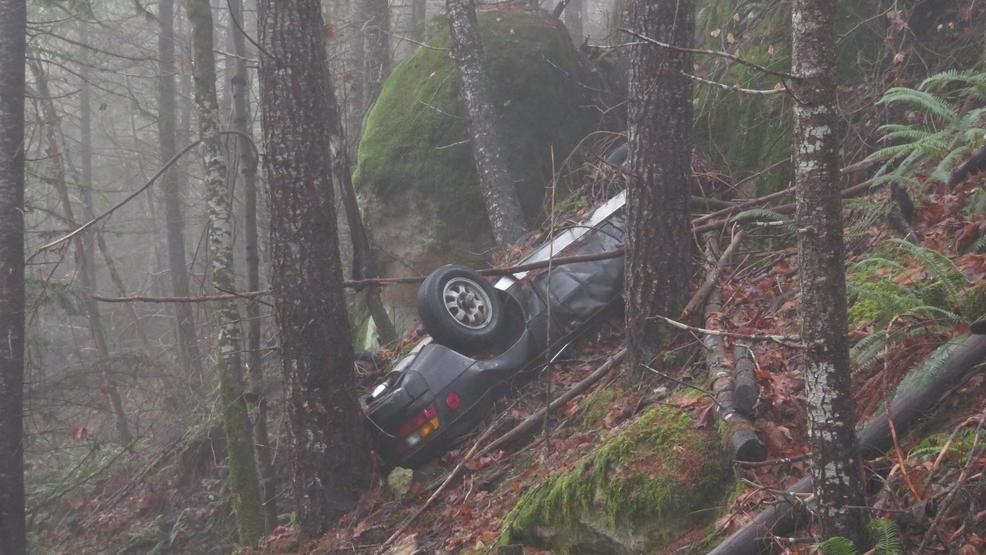 Porsche reported stolen in 1991 found at base of steep cliff in Oregon woods