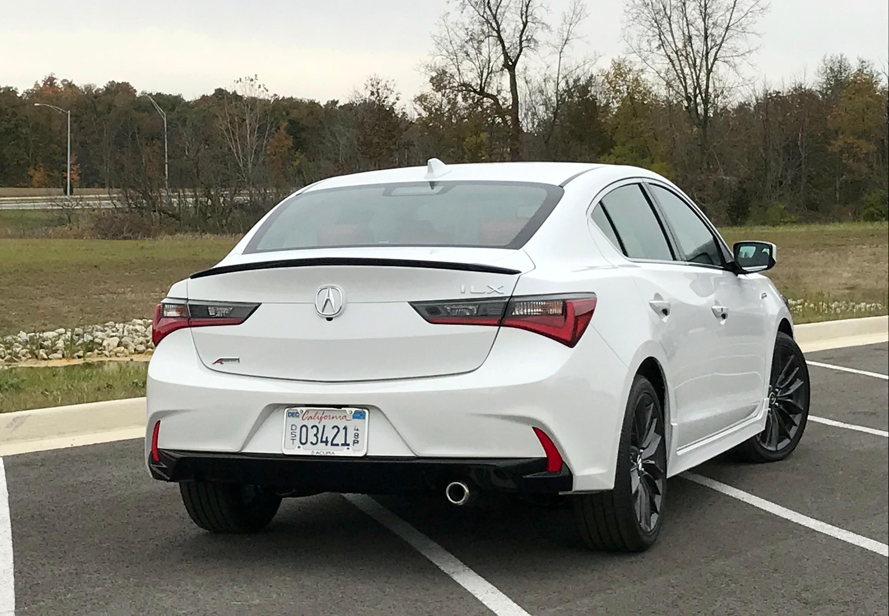 2019 Acura Ilx Entry Lux Competitor Gets Refresh Adds Standard Safety First Lo