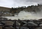 Isabella Dam outflow - 27 FEB 2017 (1).JPG