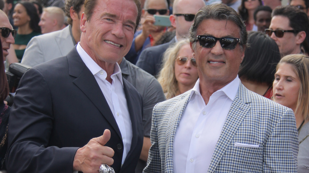 Stallone shares 71st birthday tribute to 'fantastic enemy' Schwarzenegger
