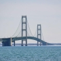 Celebrate the Mackinac Bridge's 60th anniversary with commemorative posters