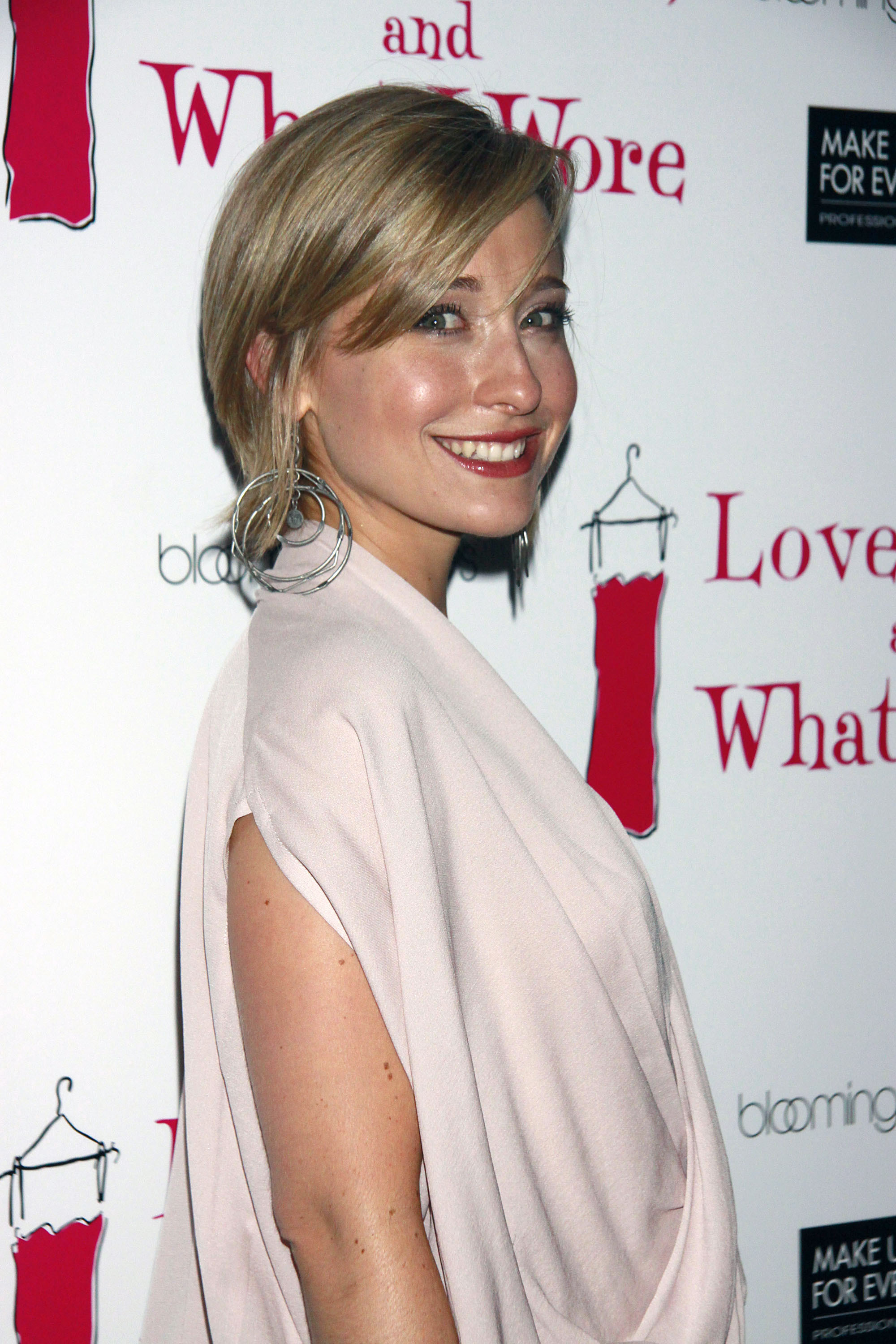 Allison Mack attending the party celebrating the new cast of  'Love, Loss, and What I Wore' held at 44 1/2 restaurant.Where: New York City, United StatesWhen: 29 Jul 2010Credit: Joseph Marzullo/Wenn.com