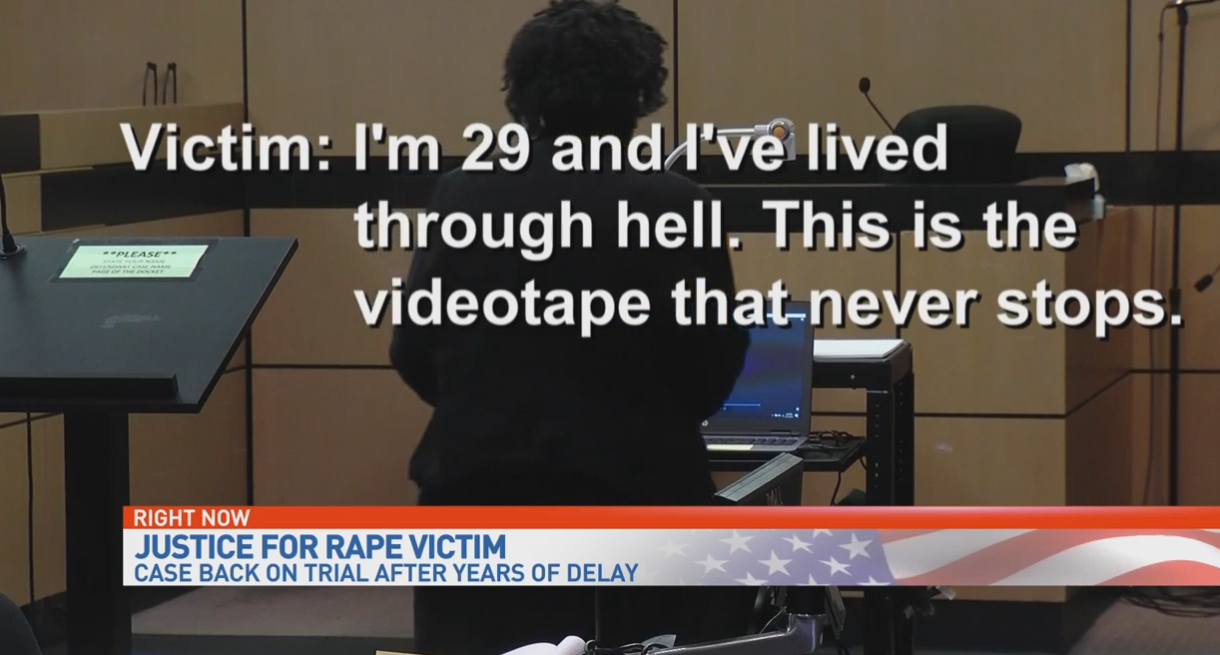 27 years later, jury hears of four-year-old's alleged rape by neighbor man. (WPEC)