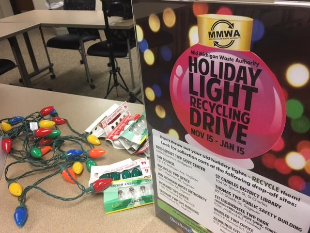 Holiday lights recycle drive runs until January 15. (Photo: Courtney Wheaton){&amp;nbsp;}<p></p>