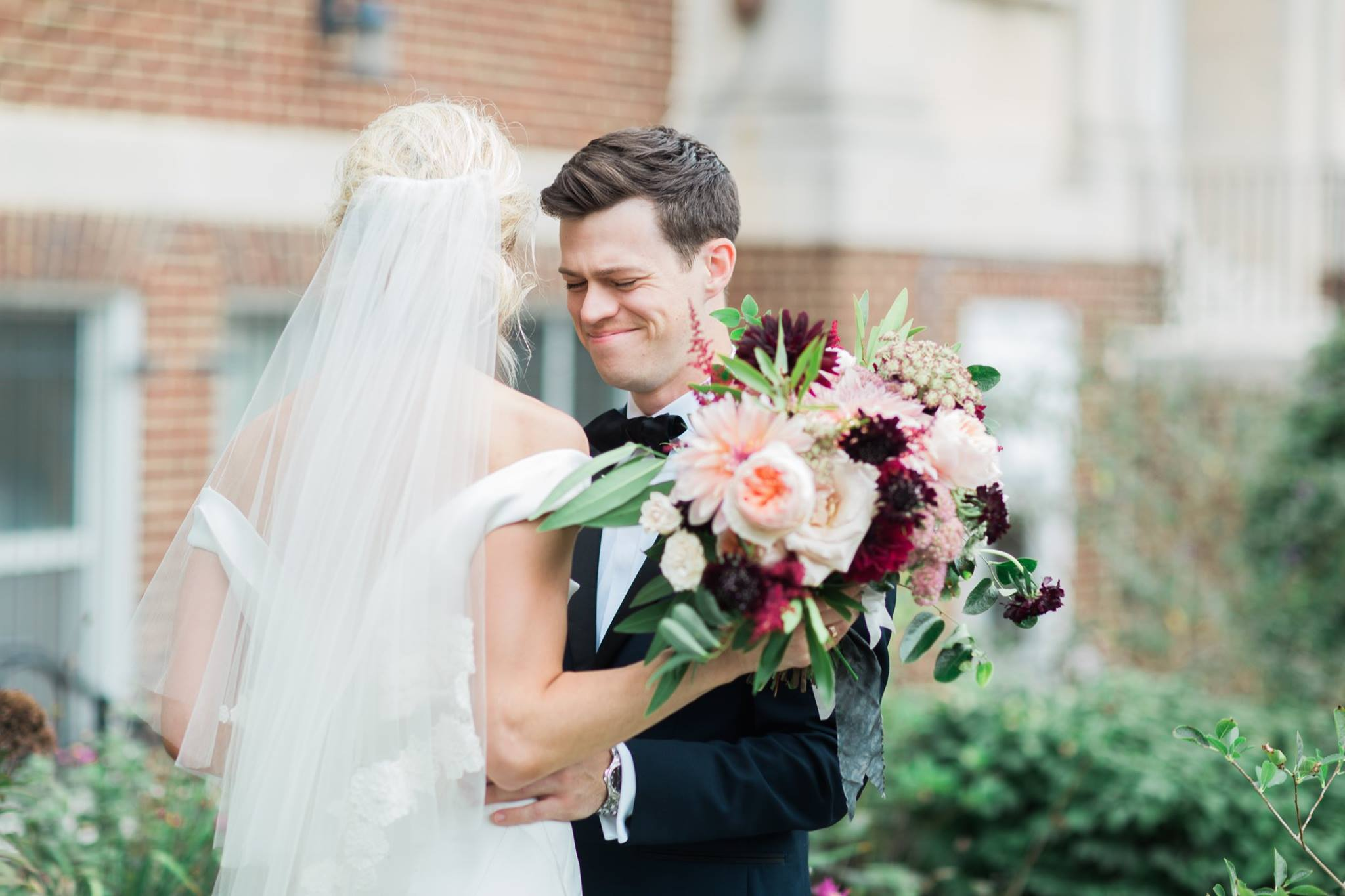 """Having a wedding planner took the hours and hours of logistics and back-and-forth of timelines, negotiations, etc. off our plate,"" said Erica. (Image: Abby Grace Photography/ abbygracephotography.com)"