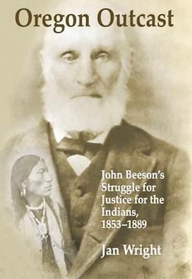 The cover of Jan Wright's book on John Beeson.