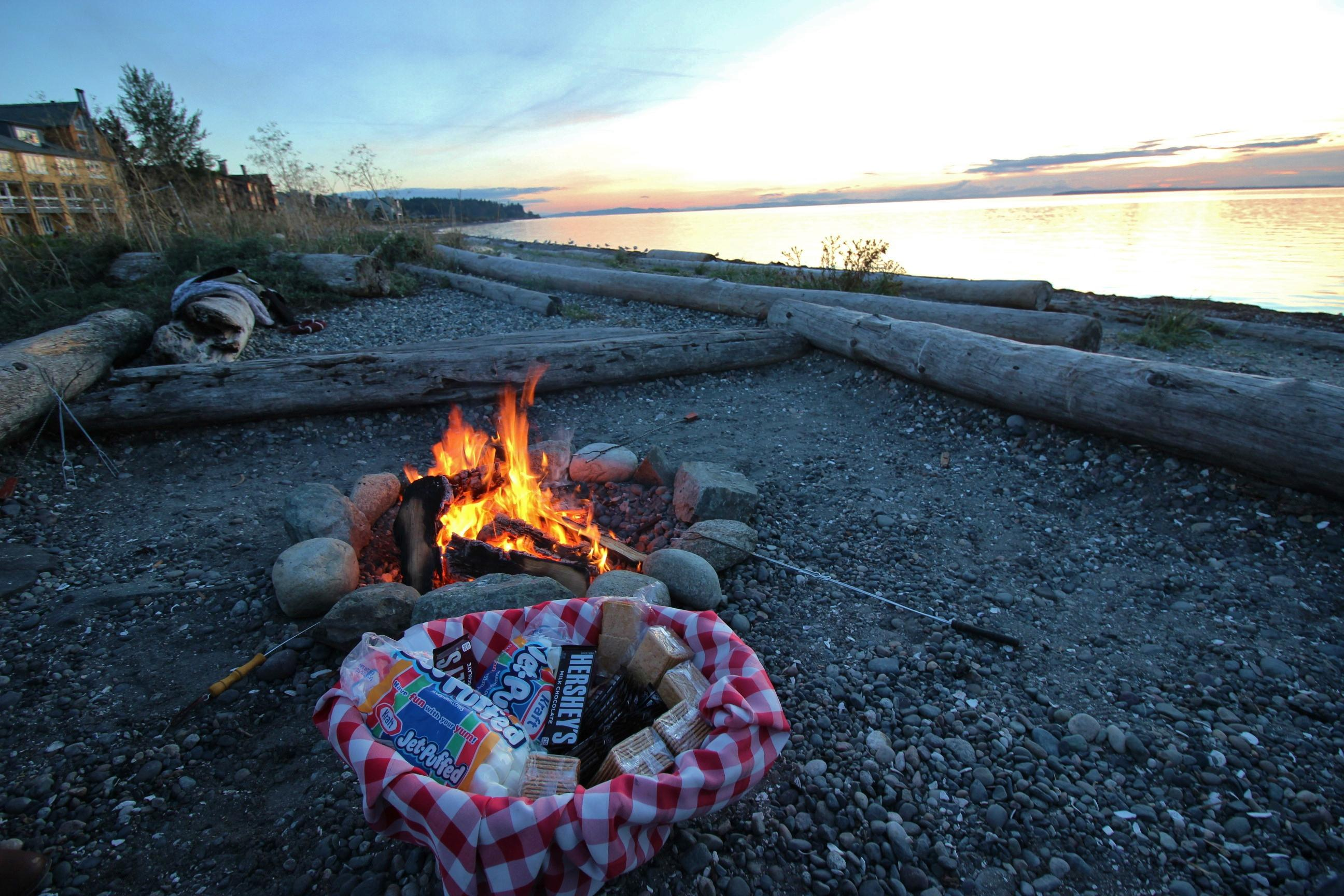 Save room for extra dessert! S'mores served nightly at the bonfires.<p></p>