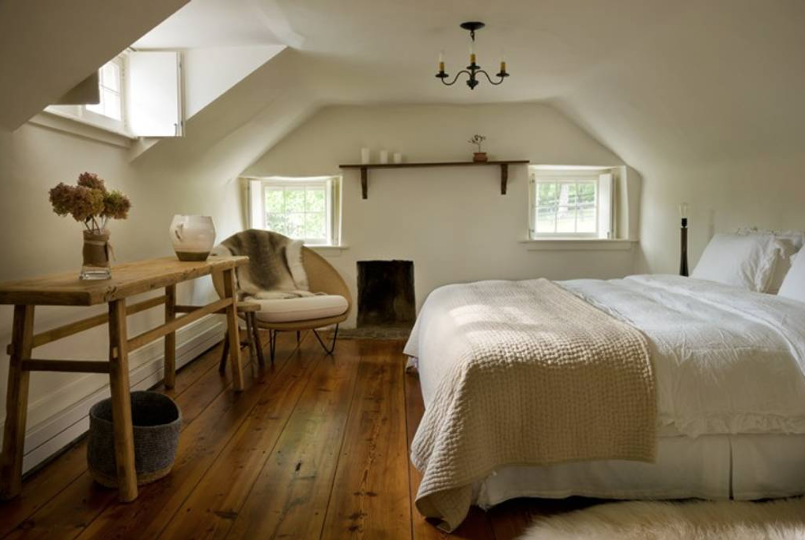 The main house offers three bedrooms... (Image: Ashley Hafstead)