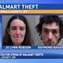 Third time not a charm for duo shoplifting from Walmart