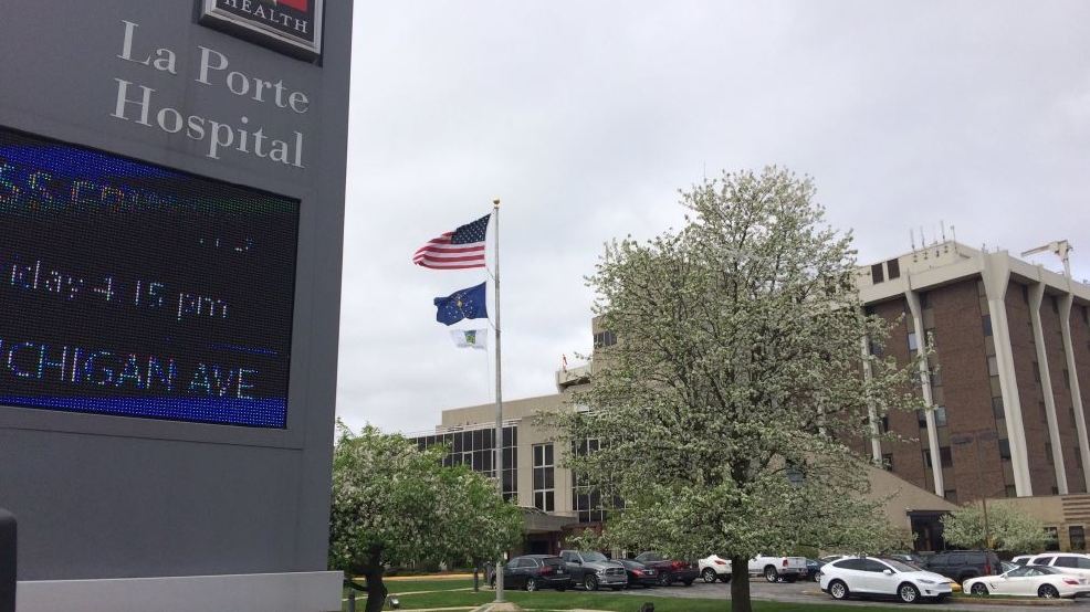 New laporte hospital building staying close to home wsbt for Iu laporte hospital