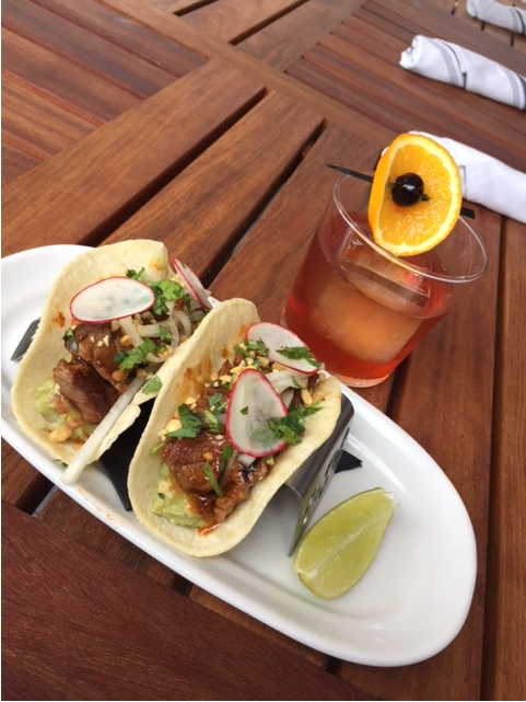 {&amp;nbsp;}Old Fashioned paired with Short Rib Taco (Image: Courtesy Silver/Richard Torres)<p></p>