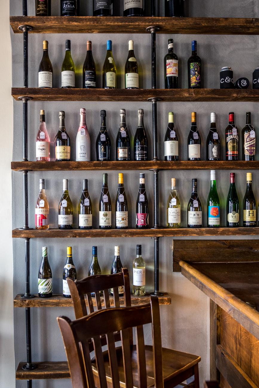 <p>PLACE: Cork & Cap / ADDRESS: 2637 Erie Avenue (Hyde Park) / Cork & Cap has an excellent selection of wine to pick up, as well. / WEBSITE: corkandcapofhydepark.com / Image: Catherine Viox // Published: 9.5.20<br></p>