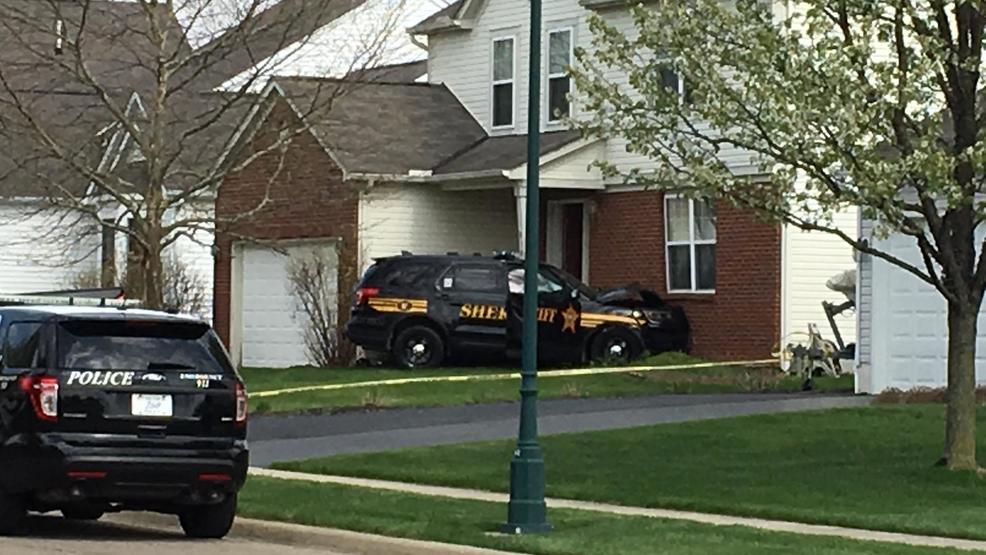 Deputy Cruiser Crashes Into Home Near Reynoldsburg Wsyx
