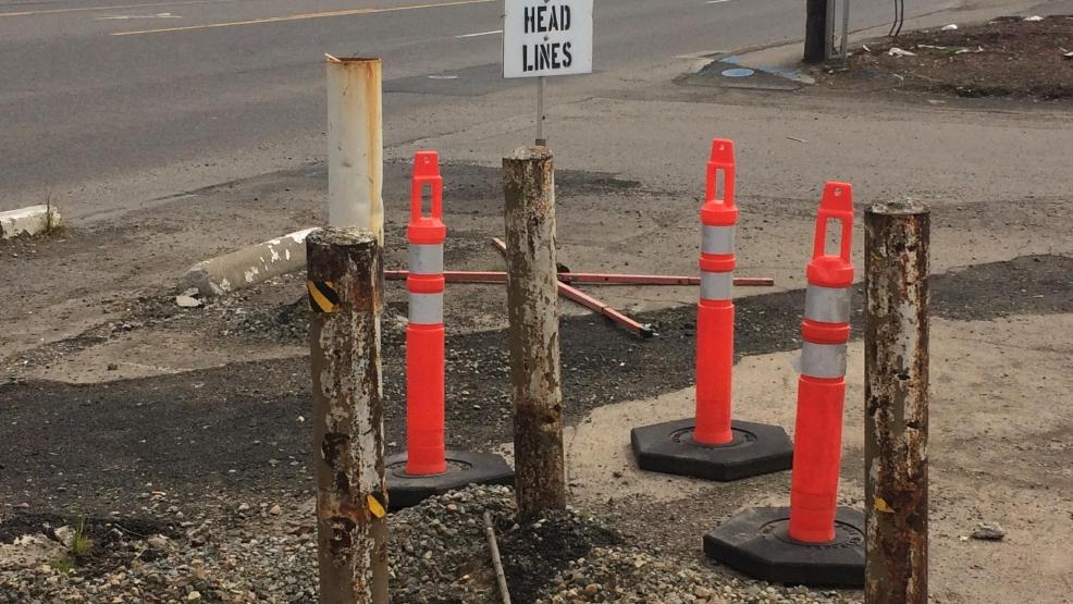 Kitchen Construction Begins Soon : Demolition is underway road construction begins soon for