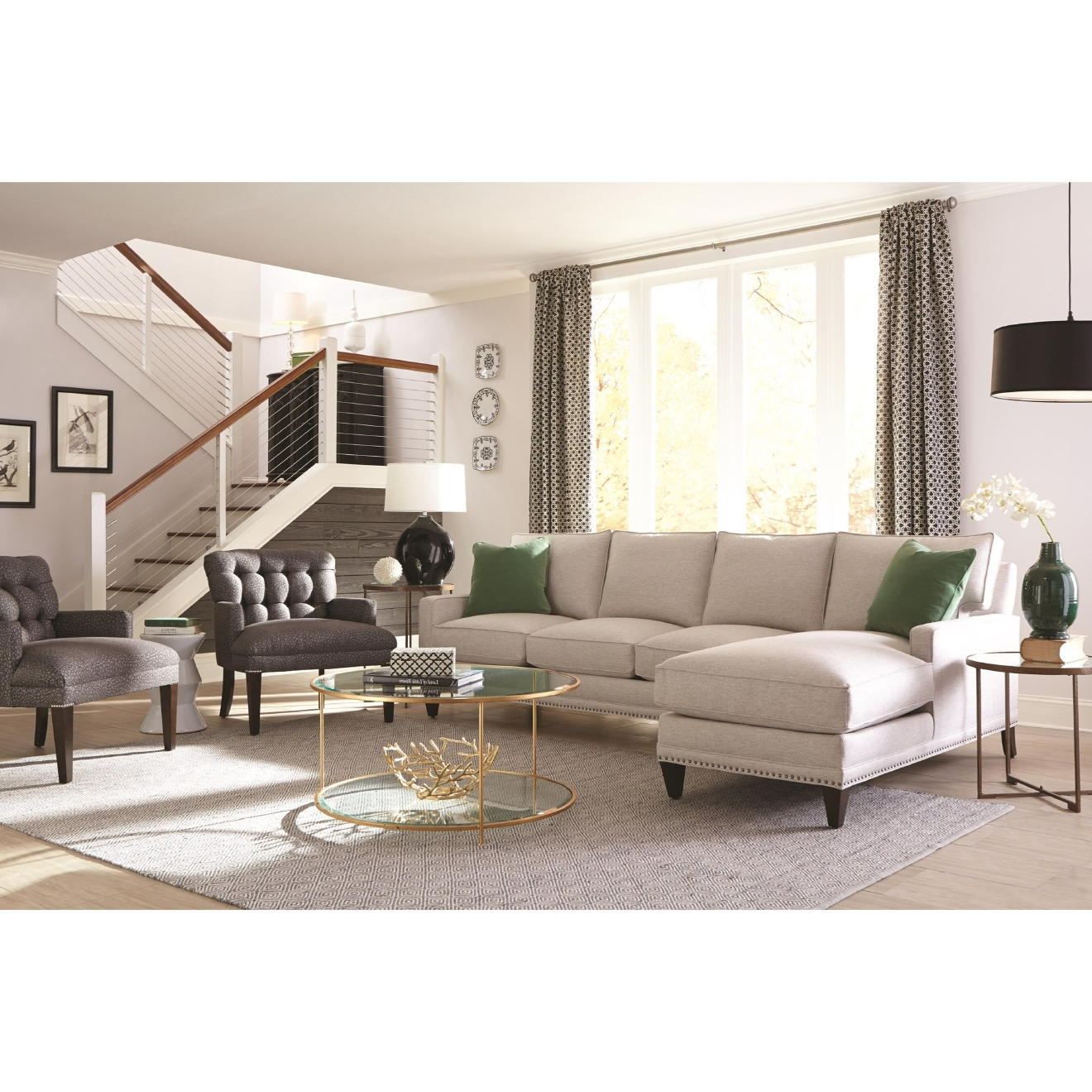 Choosing a new sofa is a big decision – it's a large piece of furniture, you'll probably sit on it daily, and its style will play a big part in defining the space it's in. Here are a few tips to help you find one that makes you happy and serves you well for years to come. (Image: Courtesy Belfort Furniture)