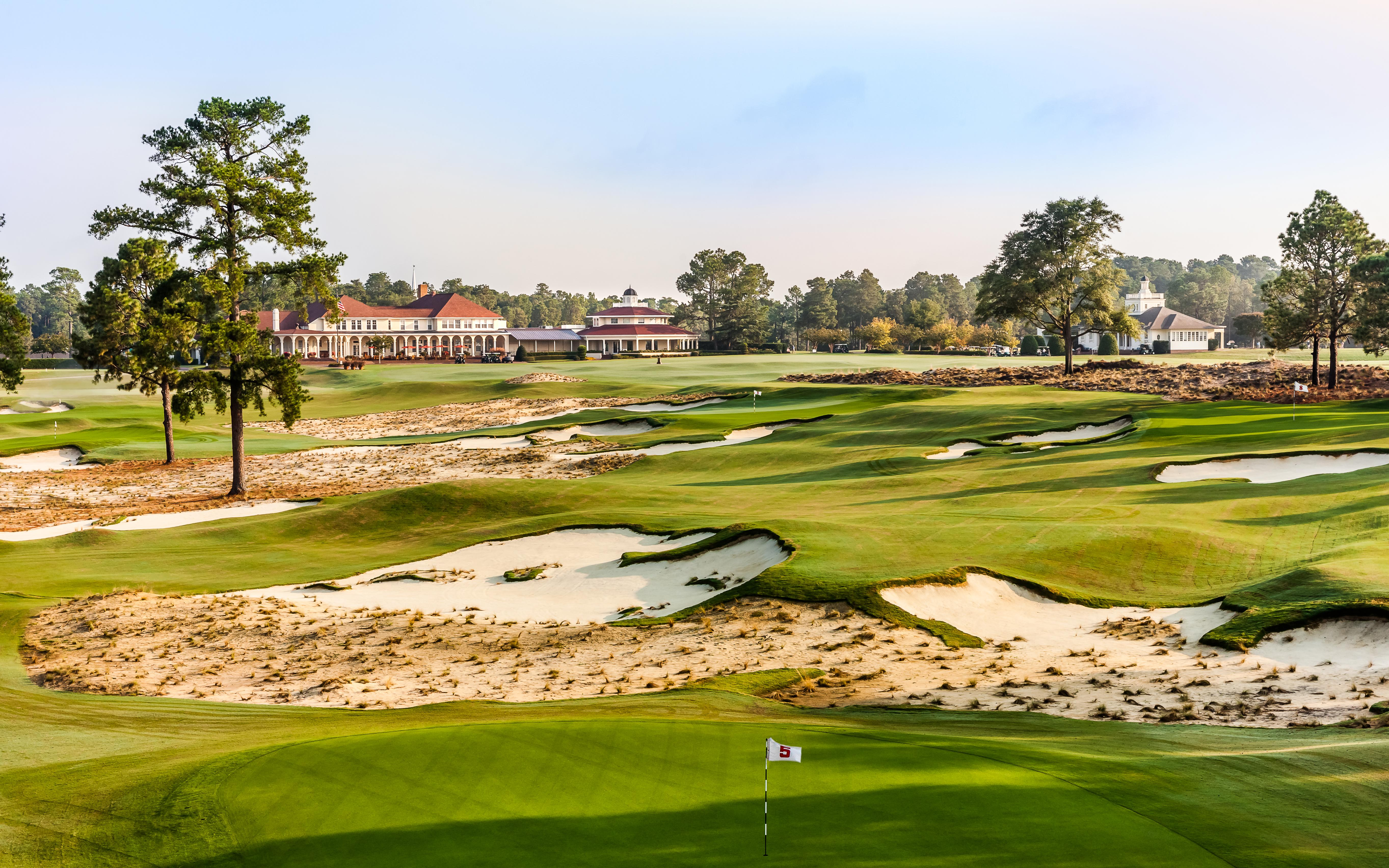 The Cradle. A fun par 3 course is right at the main clubhouse at the Pinehurst Resort.  (Image: Courtesy Pinehurst Resort)