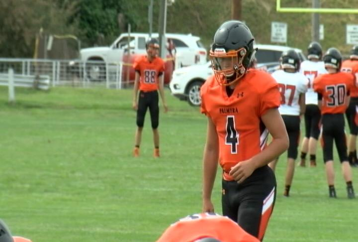 Noah Mencer's early return from a fractured Fibula is a nice boon for the Palmyra Panthers