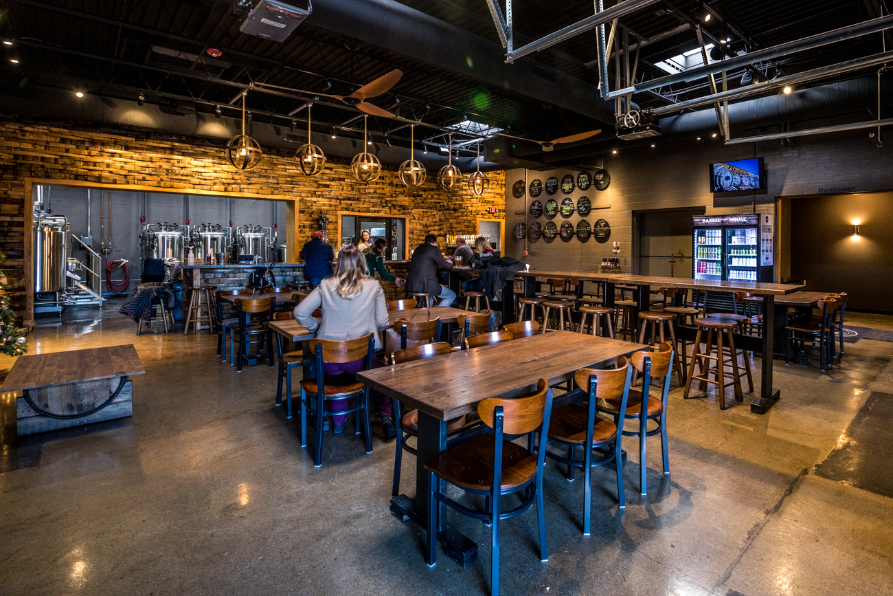 Braxton Barrel House is the local brewery's third location in the area. The Taproom with The Rooftop is in Covington and Braxton Labs is in Bellevue. The latest Fort Mitchell spot opened in September 2019 and features 20 beers on tap, a large outdoor patio, and a 20,000-square-foot basement for storing bourbon and other barrels for aging beer. ADDRESS: 5 Orphanage Road (41017) / Image: Catherine Viox // Published: 12.22.19