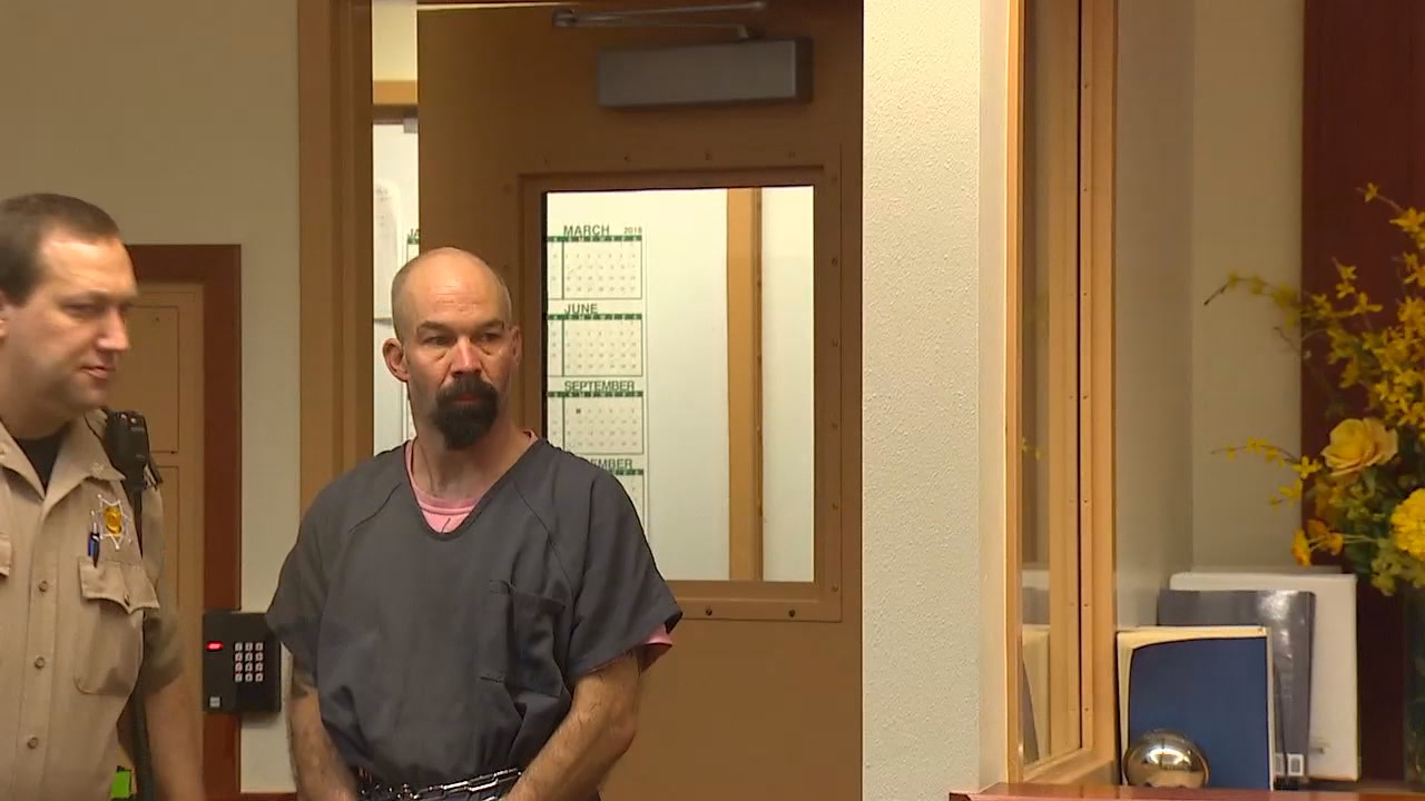 Troy Joe Chute was charged with murder and assault on Tuesday in a shooting outside Orting. (Photo: KOMO News)