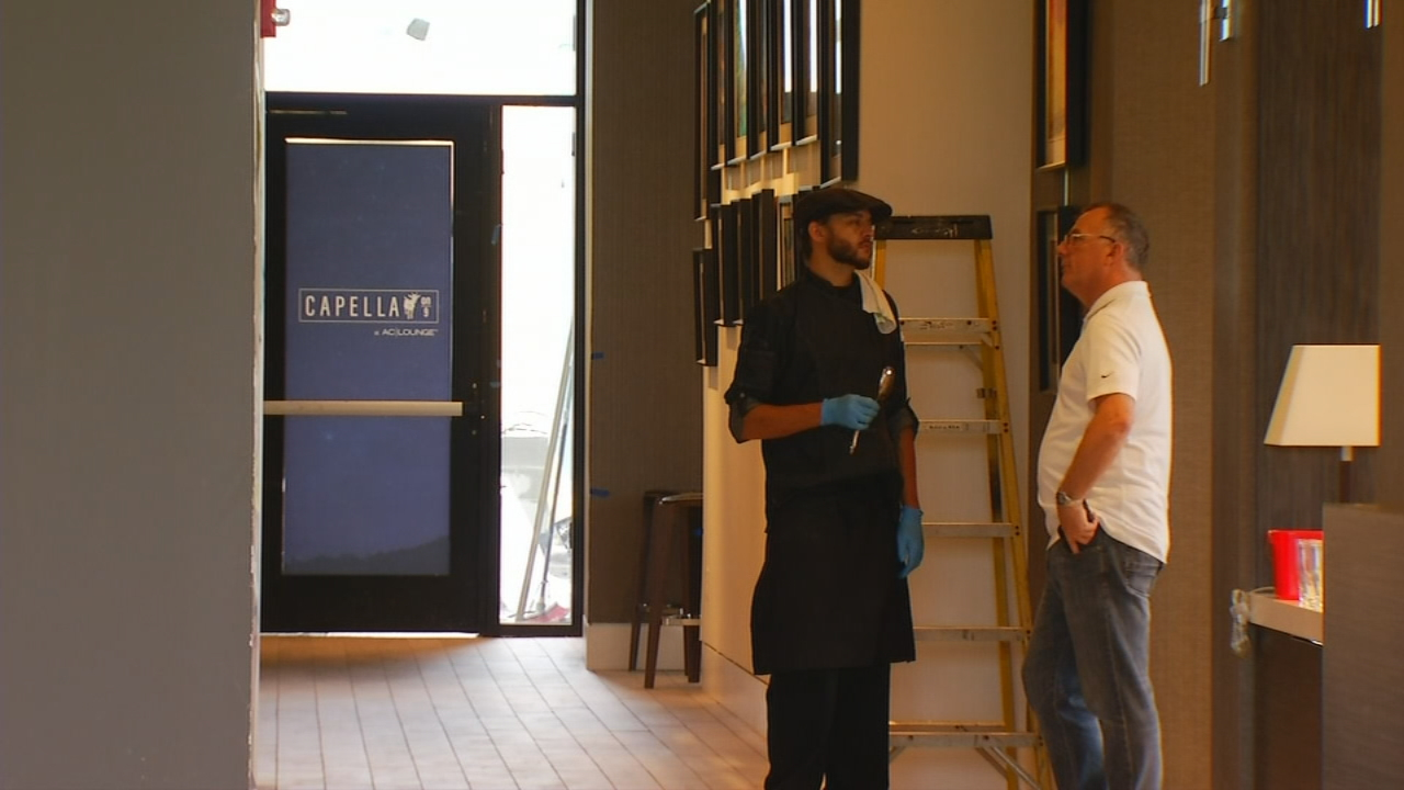 The AC Marriott on the corner of College and Broadway opens Friday. (Photo credit: WLOS Staff)