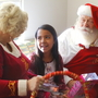 Santa and Mrs. Claus spread Christmas cheer at Mission Hospital