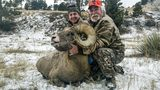 Hunters bag bighorn sheep in Nebraska; one breaks record