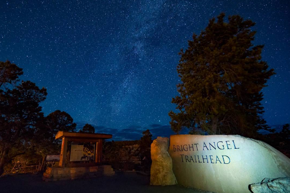 Bright Angel Trailhead (Photo: Instagram| steffophotography)