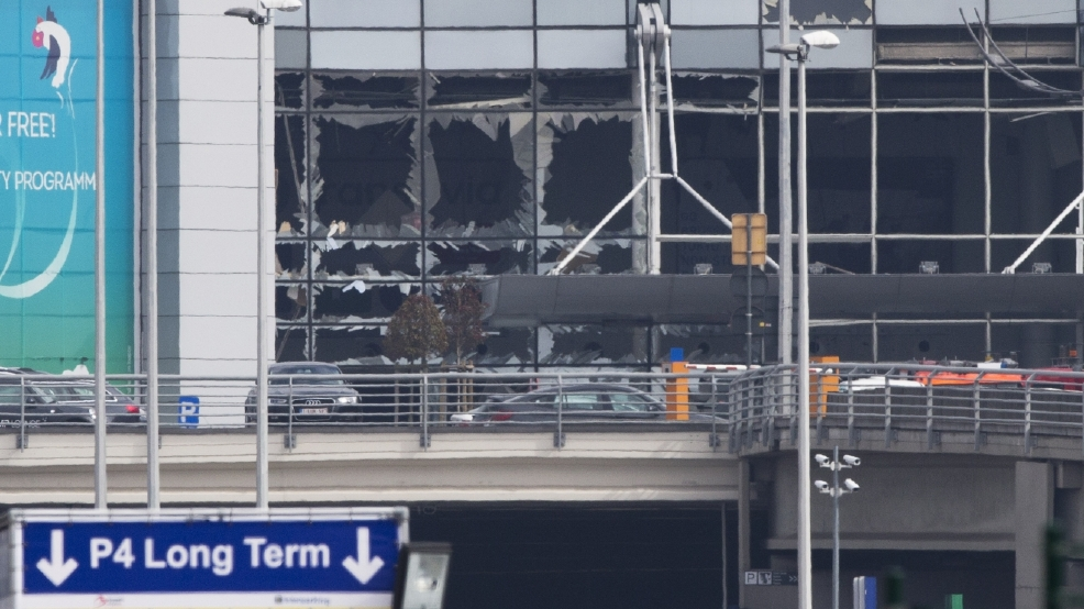 Video: Belgium airport after attack
