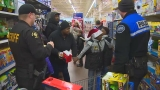Photos: King Co. police host 'Shop with a Cop' event for underprivileged kids