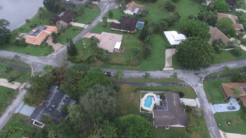 Crews Dispatch Drone To Assess Damage In Palm Beach