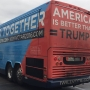 The bus rolls in and Dems have a message: vote, and vote now