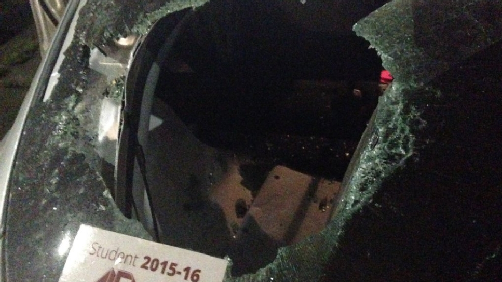 A woman driver says a man smashed her rear windshield with a baseball bat  at the red light on Patton Avenue and Leicester Highway in Asheville on  April 28, ...