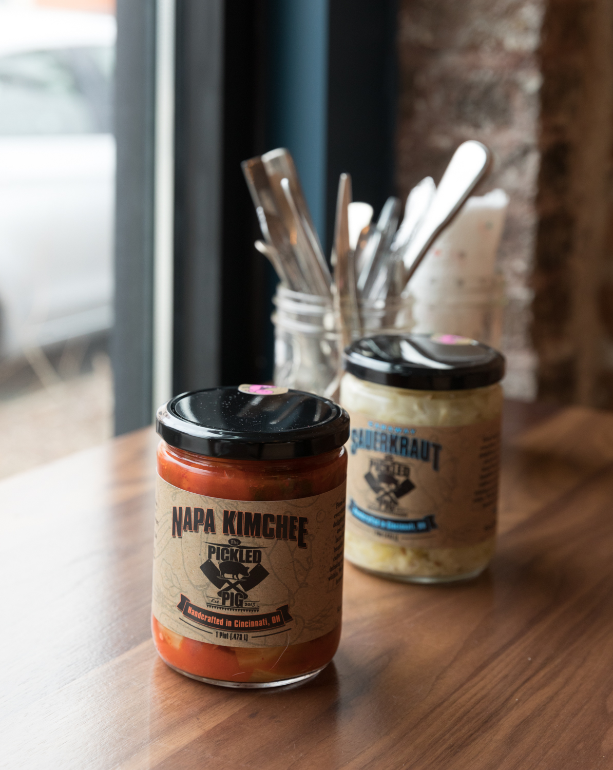Famous Pickled Pig Kimchi and Kraute{ }/ Image: Marlene Rounds // Published: 3.12.19