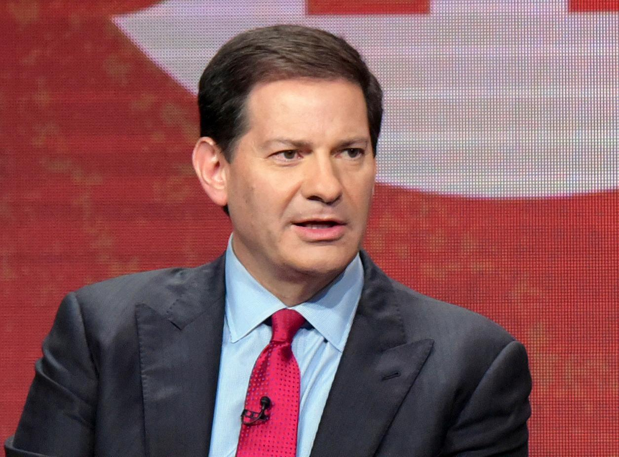 FILE - In this Aug. 11, 2016 file photo, author and producer Mark Halperin appears at the Showtime Critics Association summer press tour in Beverly Hills, Calif. Halperin is accused of harassing about 12 women while at ABC News. His book contract was terminated and he was fired from his job at NBC News. He has denied some of the allegations.  (Photo by Richard Shotwell/Invision/AP, File)