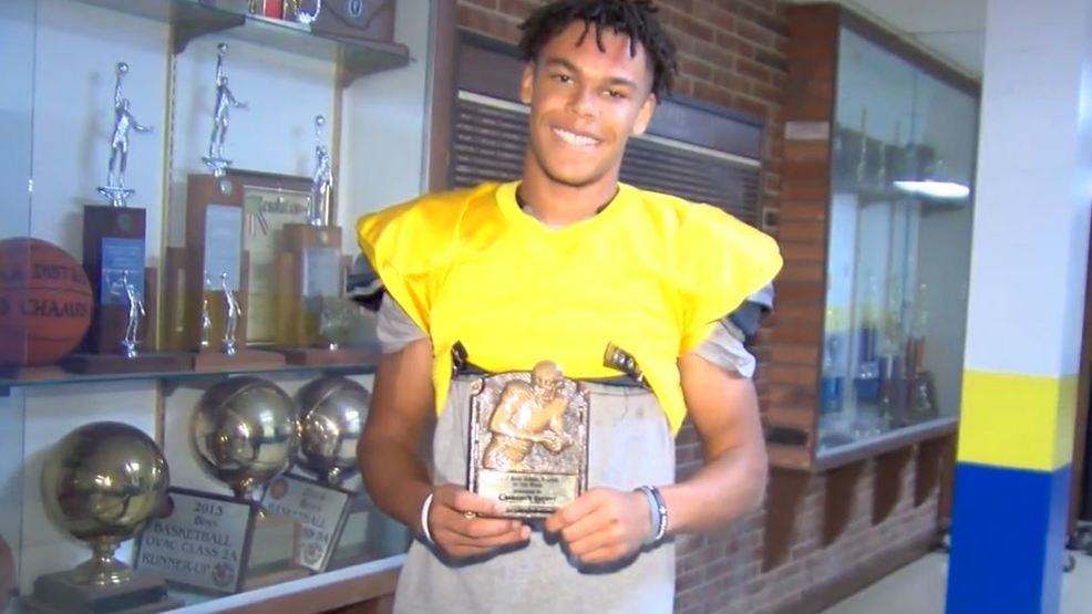 10.25.17 Player of the Week: Steubenville Central's Levi Thompson