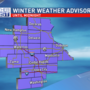 Icy roads, accumulating snow with Thursday's winter storm