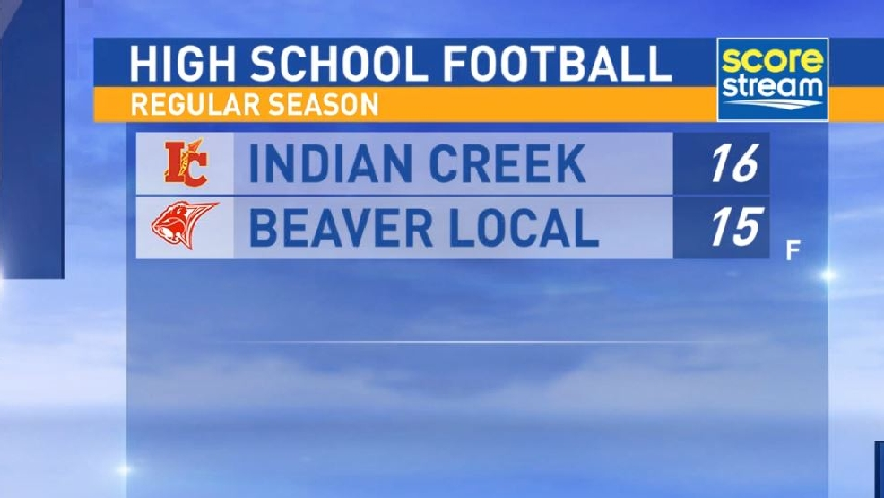 10.14.16 Highlights: Indian Creek at Beaver Local