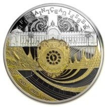 Though this coin only contains a trace amount of black rhodium, the introductory  price on APMEX.com is listed at $429.99.
